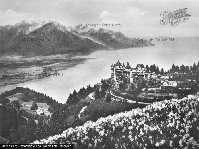 Photo of Montreux, Caux And The Hachman c.1930