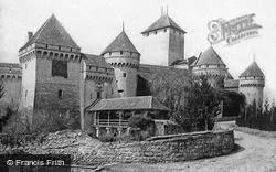 Montreux, Chillon Castle c.1875