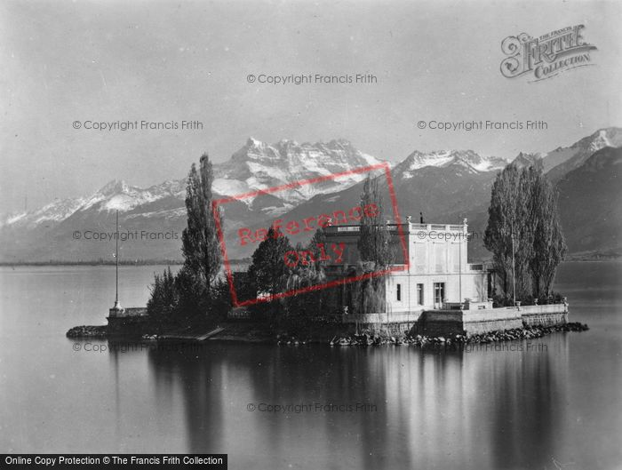Photo of Montreux, Clarens, Island Of Salagon And The Dents Du Midi c.1930