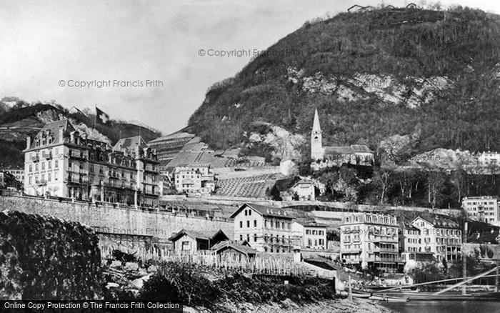 Photo of Montreux, Hotel National c.1874