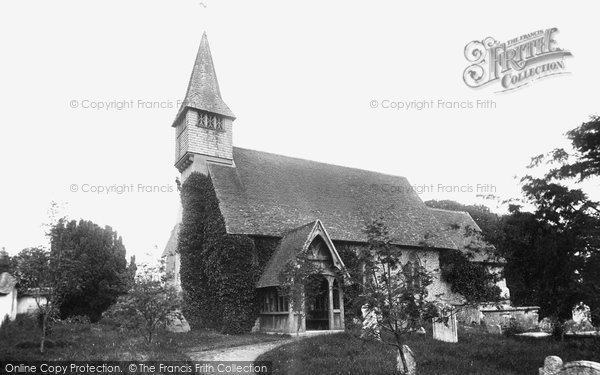 Photo of Monxton, St Mary's Church 1888