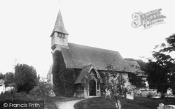Monxton, St Mary's Church 1888