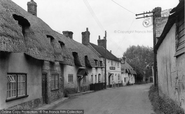 Photo of Monxton, The Village 1951