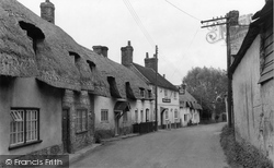 Monxton, The Village 1951
