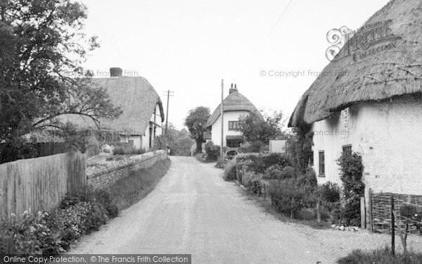 Photo of Monxton, The Village c.1950