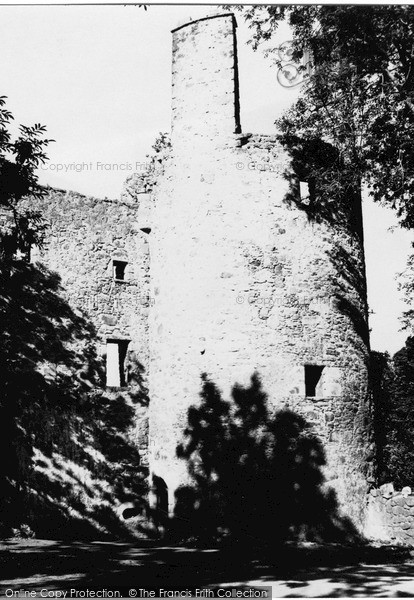Photo of Monymusk, Pitfichie Castle 1949