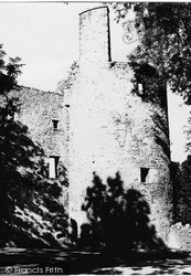 Pitfichie Castle 1949, Monymusk