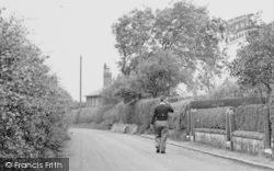 Man In Moss Lane c.1950, Moore
