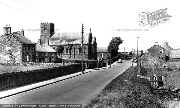 Photo of Moorsholm, The Village And St Mary's Church c.1960