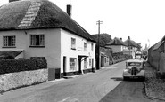 Morchard Bishop, the Post Office c1955