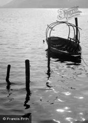 Boat On Lake Lugano c.1938, Morcote