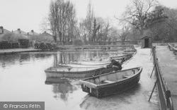 Morden, Boating Pool, Ravensbury Park c.1960