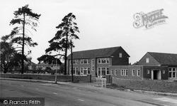 Morden, Hatfield School c.1955