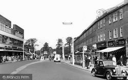 Morden, London Road c.1955