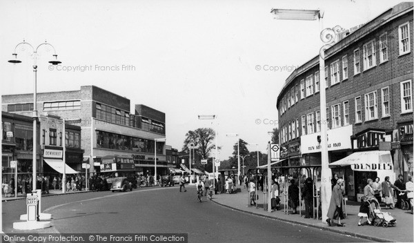 Photo of Morden, London Road c.1955