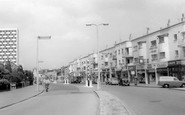 Morden, London Road c1962