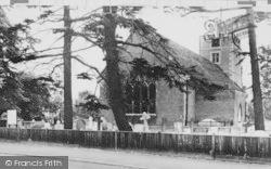 Morden, Parish Church c.1960