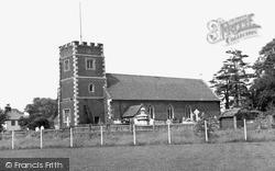 Morden, St Lawrence Church c.1955