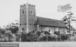 Morden, St Lawrence Church c.1960