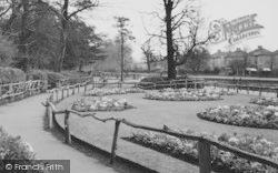 Morden, The Gardens, Ravensbury Park c.1960