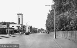 Morden, Wimbledon Road c.1955