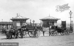 Entrance, The Central Pier 1888, Morecambe