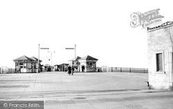 Pier Head, West End Pier c.1955, Morecambe