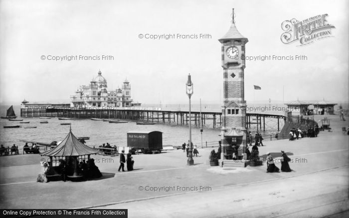 Photo of Morecambe, The Central Pier 1906