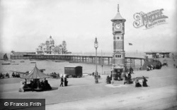 Morecambe, the Central Pier 1906