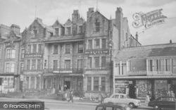 The Clarendon Hotel c.1955, Morecambe