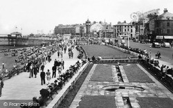 The Gardens And Promenade c.1950, Morecambe