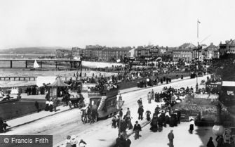 Morecambe, the Promenade 1899
