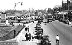 The Promenade c.1950, Morecambe