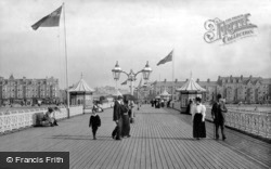 The West End Pier 1899, Morecambe