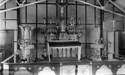 Catholic Church Interior c.1950, Moreton