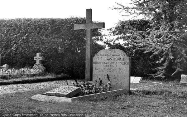 Photo of Moreton, Grave Of Lawrence Of Arabia c.1955