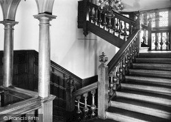 The Staircase c.1955, Moreton Paddox