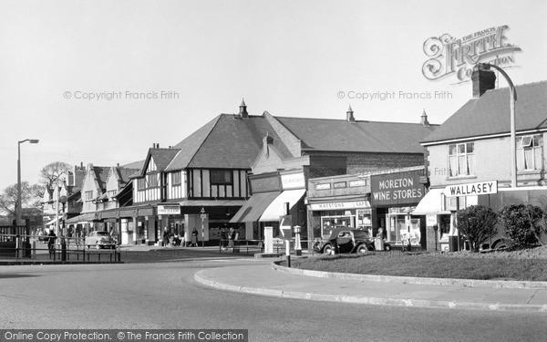 Photo of Moreton, Pasture Road from Moreton Cross c1958