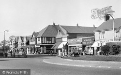 Pasture Road From Moreton Cross c.1958, Moreton