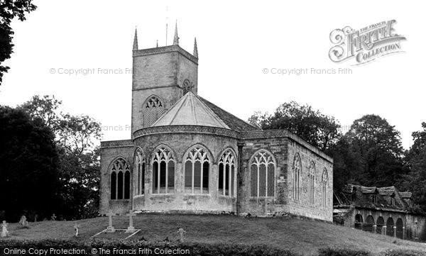 Photo of Moreton, St Nicholas's Church c.1955