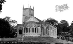 Moreton, St Nicholas's Church c.1955