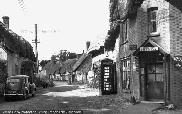 Photo of Moreton, The Post Office c.1955