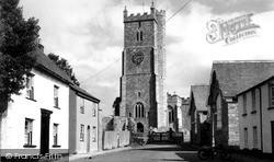 Church Of St Andrew c.1960, Moretonhampstead