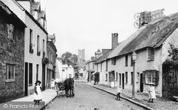Court Street 1906, Moretonhampstead