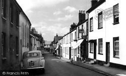 Cross Street c.1960, Moretonhampstead