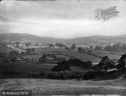 General View 1924, Moretonhampstead