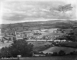 General View Showing Haytor 1931, Moretonhampstead