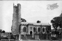 St Andrew's Church 1906, Moretonhampstead