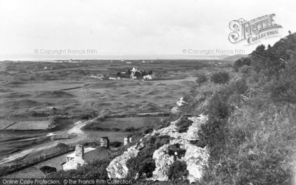Photo of Morfa Bychan, Across Golf Links 1935