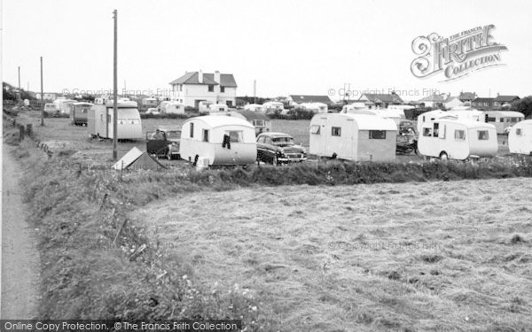 Photo of Morfa Bychan, Beach Road Cafe And Caravan Site c.1960